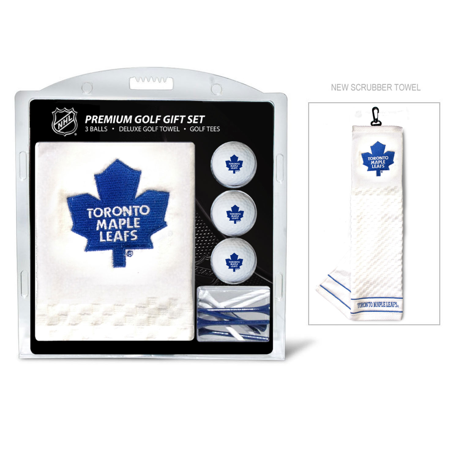 1ab84e84791 Toronto Maple Leafs Embroidered Gift Set