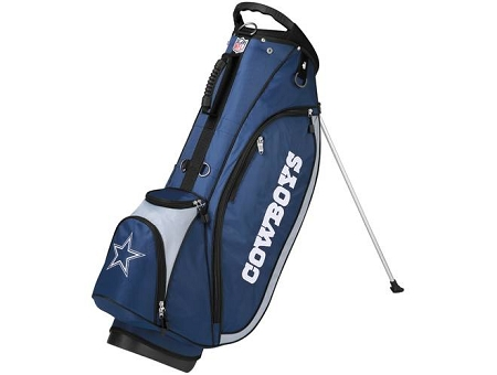 Dallas Cowboys Wilson Nfl Logo Golf Stand Bag