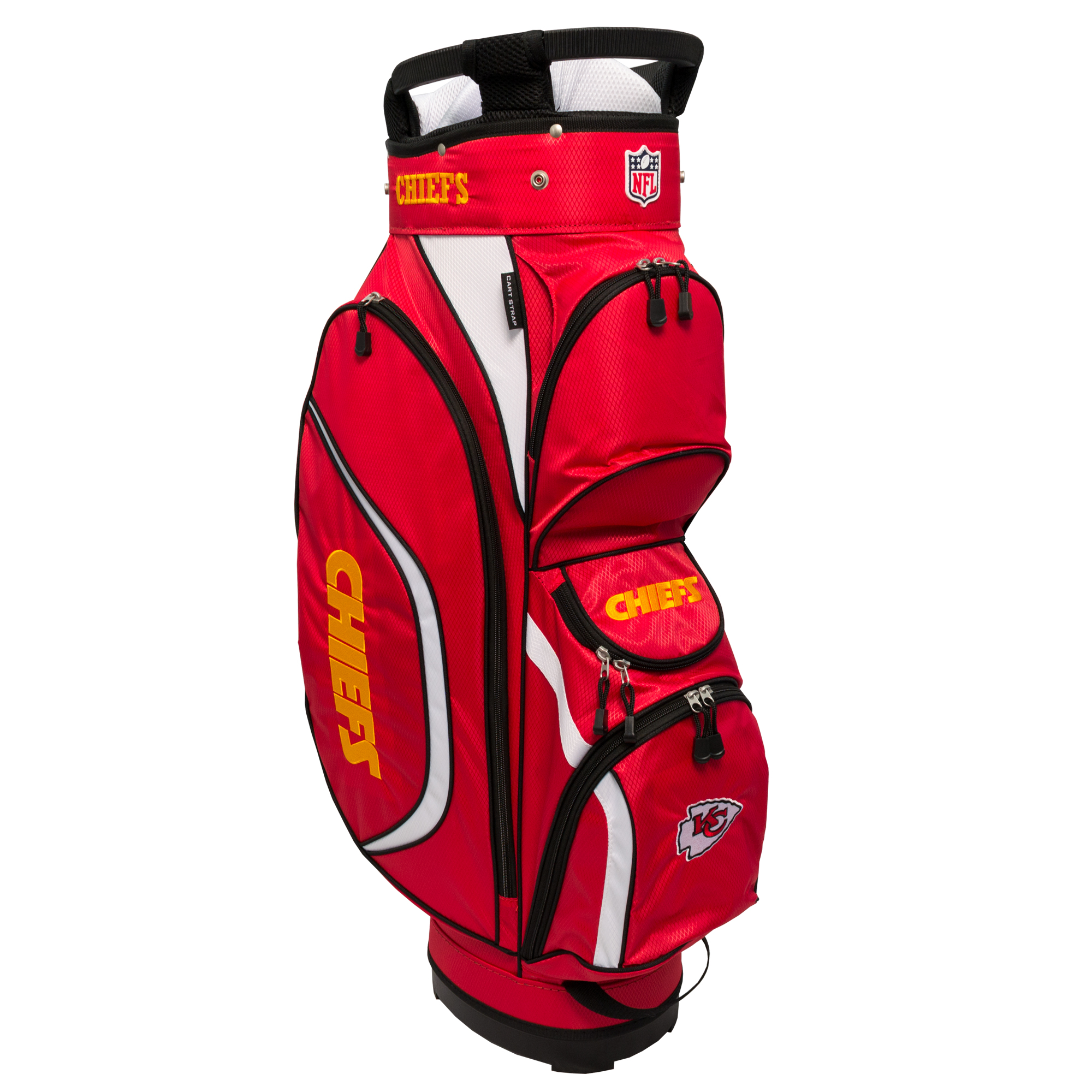 7b27ea7ddbe Team Golf NFL Kansas City Chiefs Clubhouse Golf Cart Bag