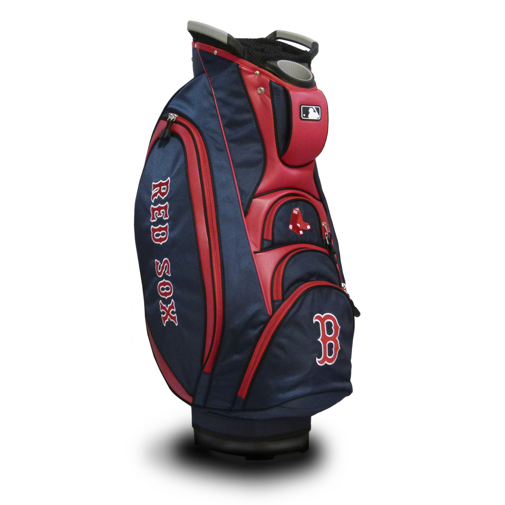 17e7292f05a Boston Red Sox Team Golf MLB Victory Cart Bag