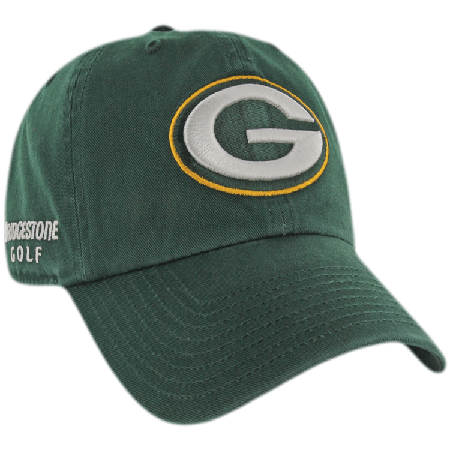 73f0233d Green Bay Packers NFL Logo Bridgestone Golf Hat / Cap