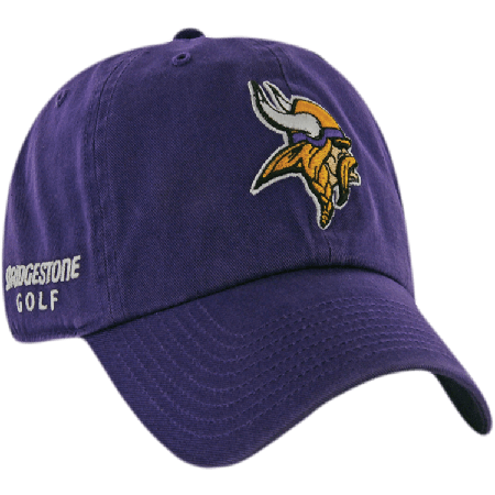 Minnesota Vikings NFL Logo Bridgestone Golf Hat   Cap 121902f56aa