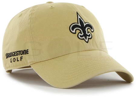 New Orleans Saints NFL Logo Bridgestone Golf Hat   Cap 57a2889b60c