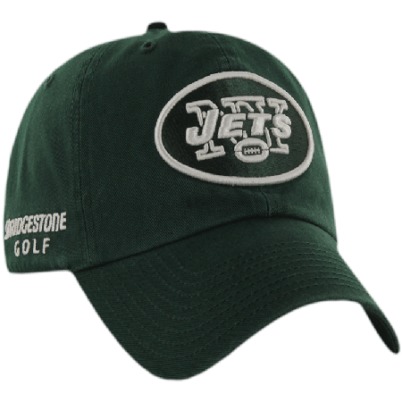 New York Jets NFL Logo Bridgestone Golf Hat   Cap 8f522e24556