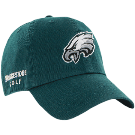 Philadelphia Eagles NFL Logo Bridgestone Golf Hat   Cap d4d27677a893