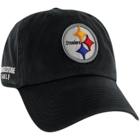 Pittsburgh Steelers NFL Logo Bridgestone Golf Hat   Cap 892d9de69
