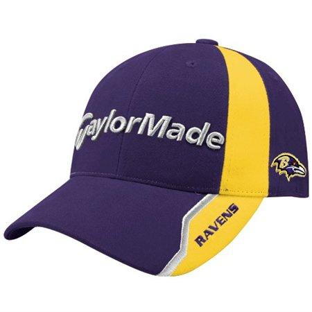 3e967505558 Baltimore Ravens NFL Logo TaylorMade Nighthawk Hat