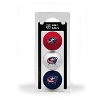 Columbus Blue Jackets 3 Ball Clamshell
