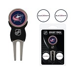 Columbus Blue Jackets Divot Tool Set of 3 Markers