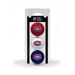 Montreal Canadiens 3 Ball Clamshell