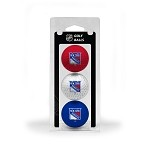 New York Rangers 3 Ball Clamshell