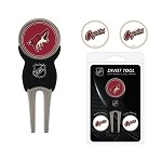 Arizona Coyotes Divot Tool Set of 3 Markers