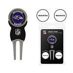 Baltimore Ravens Divot Tool Set of 3 Markers