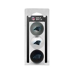 Carolina Panthers 3 Ball Clamshell