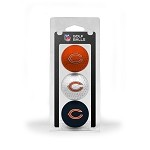 Chicago Bears 3 Ball Clamshell