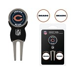 Chicago Bears Divot Tool Set of 3 Markers