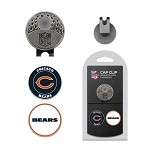Chicago Bears 2 Marker Cap Clip