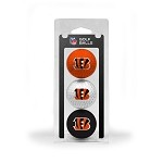 Cincinnati Bengals 3 Ball Clamshell