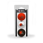 Cleveland Browns 3 Ball Clamshell