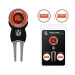 Cleveland Browns Divot Tool Set of 3 Markers