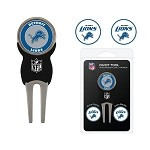 Detroit Lions Divot Tool Set of 3 Markers