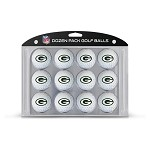 Green Bay Packers Dozen Pack Balls