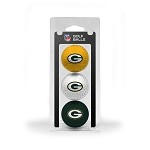 Green Bay Packers 3 Ball Clamshell