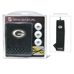 Green Bay Packers Embroidered Gift Set