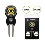 Green Bay Packers Divot Tool Set of 3 Markers