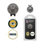 Green Bay Packers 2 Marker Cap Clip