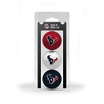 Houston Texans 3 Ball Clamshell