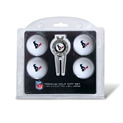 Houston Texans 4 Ball Gift Set