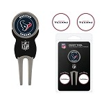 Houston Texans Divot Tool Set of 3 Markers
