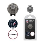 Houston Texans 2 Marker Cap Clip