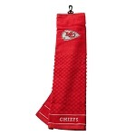 Kansas City Chiefs Embroidered Towel