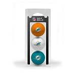 Miami Dolphins 3 Ball Clamshell