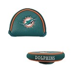 Miami Dolphins Mallet Putter Cover