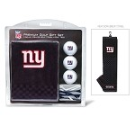 New York Giants Embroidered Gift Set