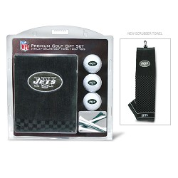 New York Jets Embroidered Gift Set