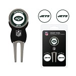 New York Jets Divot Tool Set of 3 Markers