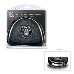 Oakland Raiders Mallet Putter Cover