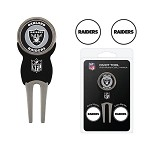 Oakland Raiders Divot Tool Set of 3 Markers