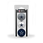 Dallas Cowboys 3 Ball Clamshell