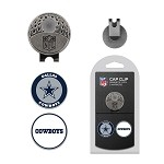 Dallas Cowboys 2 Marker Cap Clip