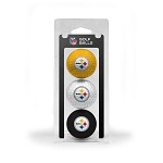Pittsburgh Steelers 3 Ball Clamshell