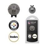 Pittsburgh Steelers 2 Marker Cap Clip