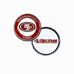 San Francisco 49ers Double Sided Ball Marker
