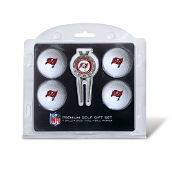 Tampa Bay Buccaneers 4 Ball Gift Set