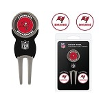 Tampa Bay Buccaneers Divot Tool Set of 3 Markers