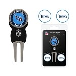 Tennessee Titans Divot Tool Set of 3 Markers